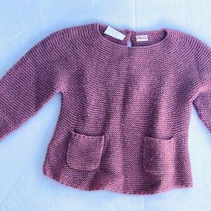 Zara sweater girls size 12-18 months